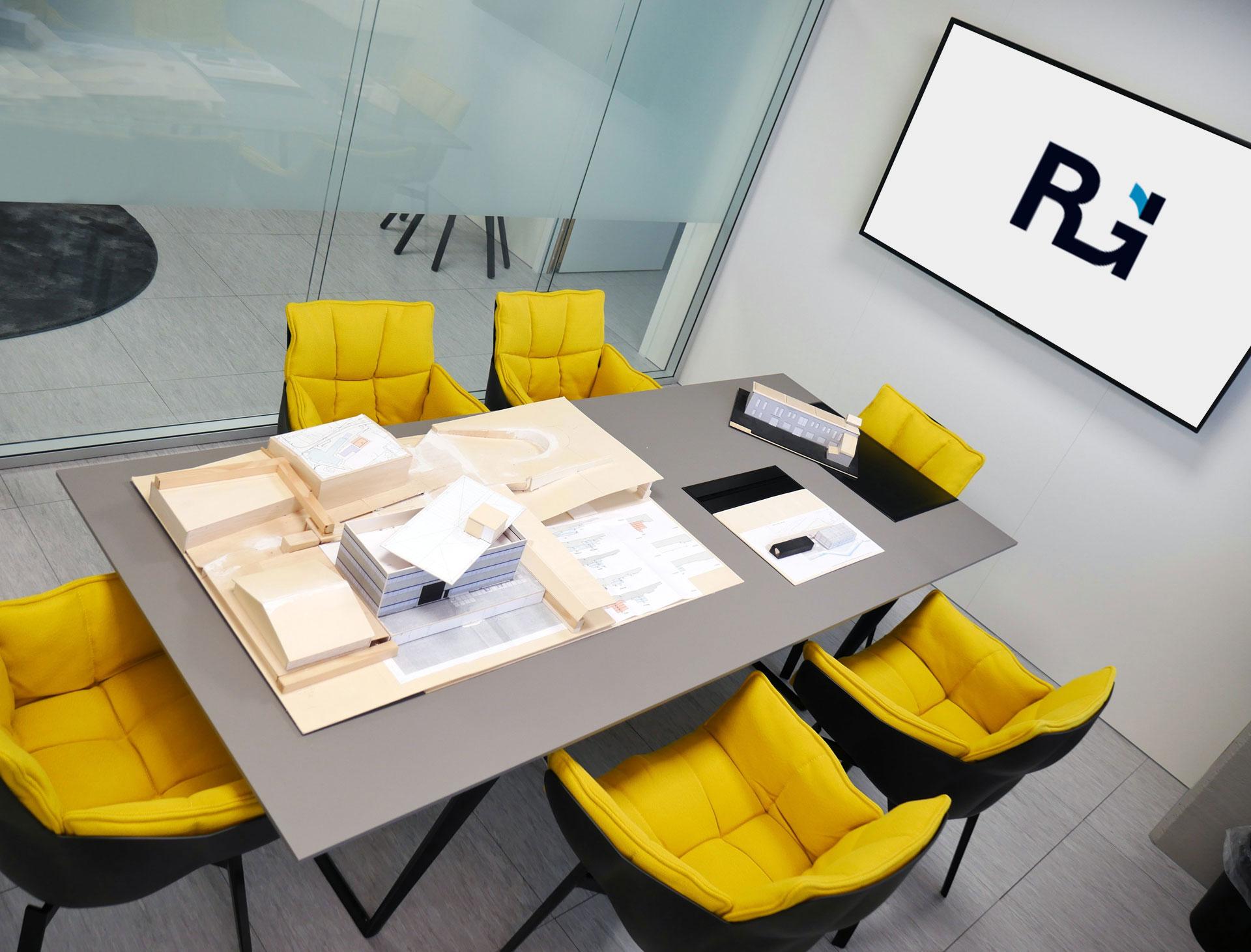 sala riunioni REX GROUP SA